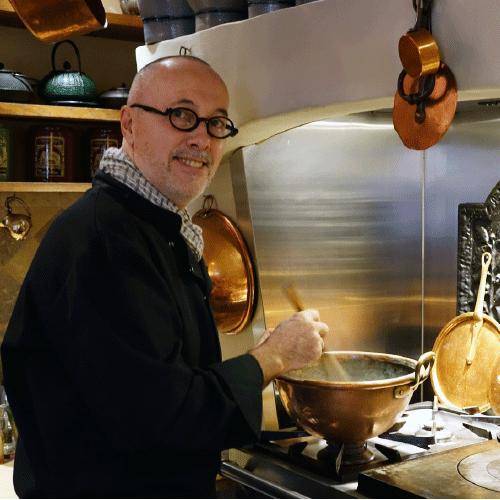 Chef cuisinier du restaurant percheron dans le Perche en Orne - La Maison d'Horbé