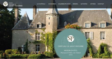 Château de Saint Paterne - Chambres-d'hôtes et gîtes - Alençon - Orne - Perche - Normandie.