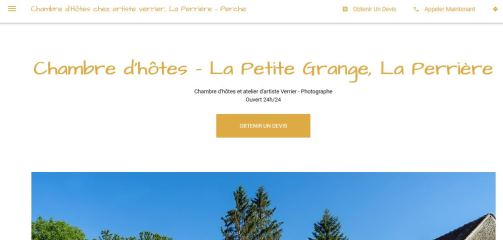 La Petite Grange - La Perrière